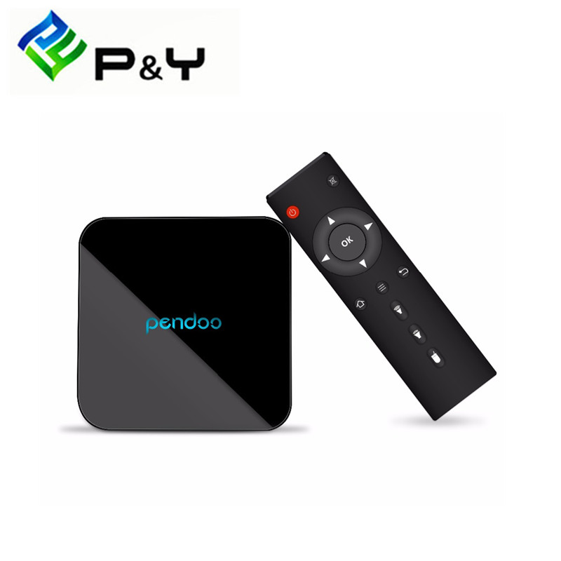 2017 NEW Hot-Selling Product  Media Player Pendoo X10 S905X 2G 16G Set Top Tv Box Android China Factory Android 6.0 OS