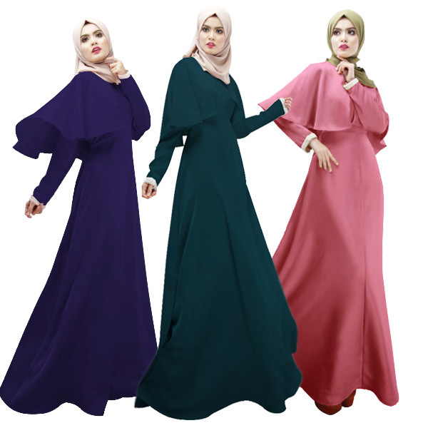 38a84d9a64317 Fashion Softy twill cotton new fashion cloak design muslim abaya big size  abaya-in Islamic Clothing from Novelty & Special Use on Aliexpress.com |  Alibaba ...
