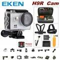 100% Original EKEN H9R controle remoto da câmera 4 K 170D wi-fi Ultra HD 1080 p 60fps câmera à prova d' água esportes mini cam