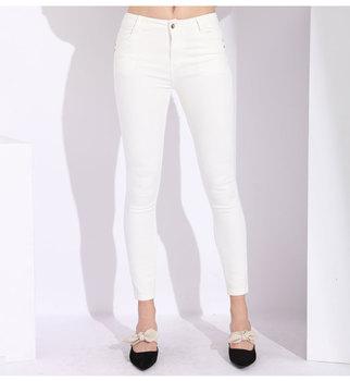 White Skinny Plus Size Jeans