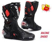 Motorcycle Shoe Sport Motocross Cycling Long Boots Off Road Racing Gears Moto Accessories&Parts EUR 40 45 Pro Biker B001