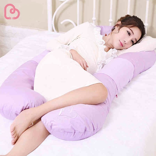 u shape total body pillow pregnant maternity comfort support sleeper remedy full body contour u pillow