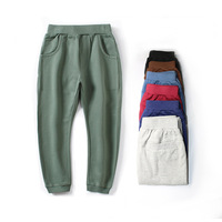 Free Shipping Hot Sale Children Cotton Pants Boys Girls Casual Pants 7 Colors Kids Sports Trousers