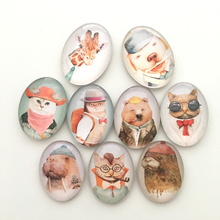Free shipping (9pcs/lot) Cool Animal Crystal Glass Fridge Magnet for Pet Lovers Whiteboard Message Stickers Home/Kitchen Decor
