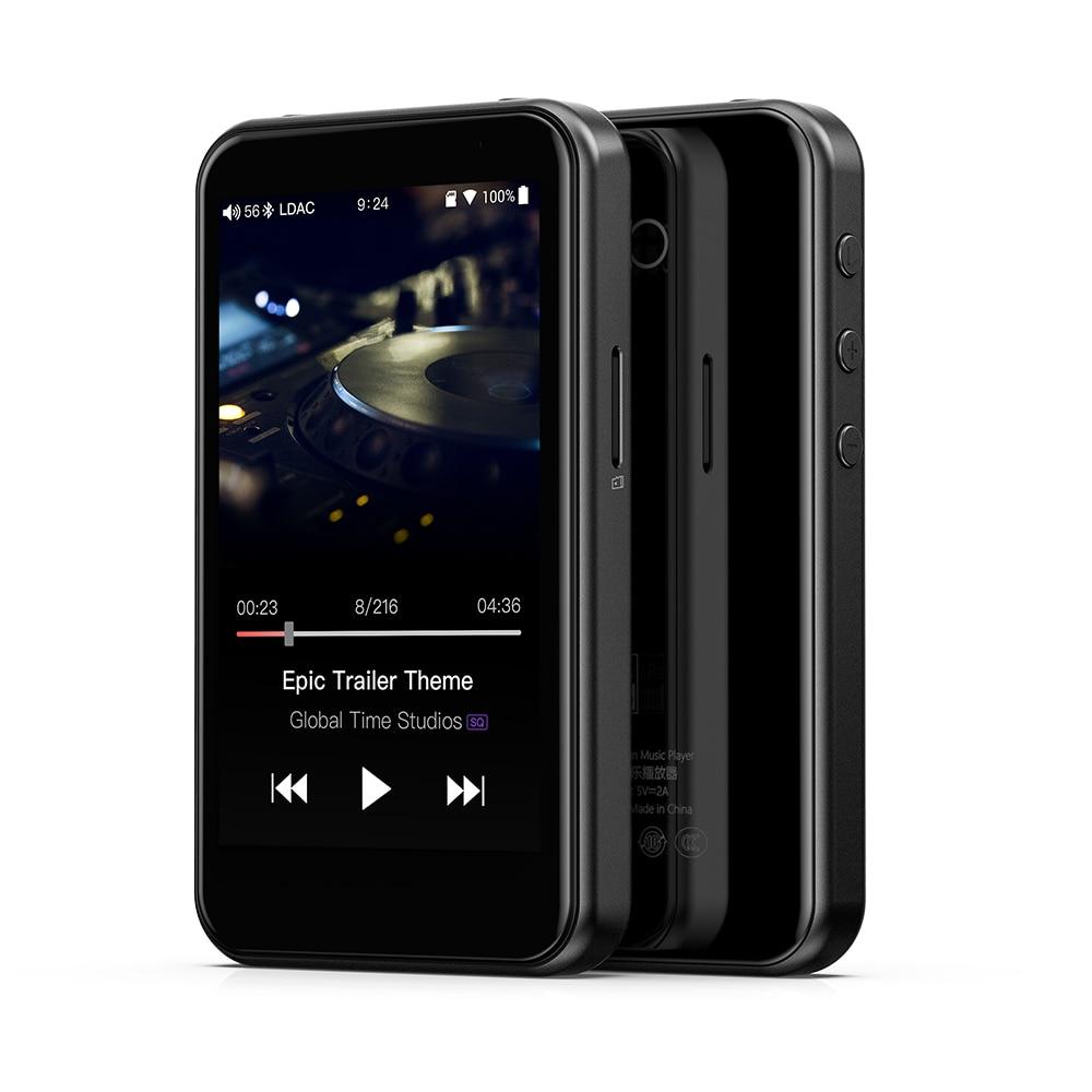 FiiO M6 Salut-Res Sous Android Lecteur de Musique avec aptX HD, TAAC HiFi Bluetooth, USB Audio/DAC, DSD Soutien et WiFi/Air Lecture