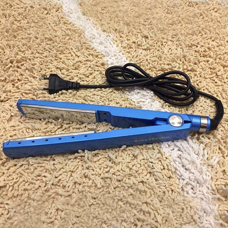 2019 Profession Hair Straightener Flat Iron Steam Salon Ceramic Vapor High Quality Hair Straightening Tourmaline Styler Tools