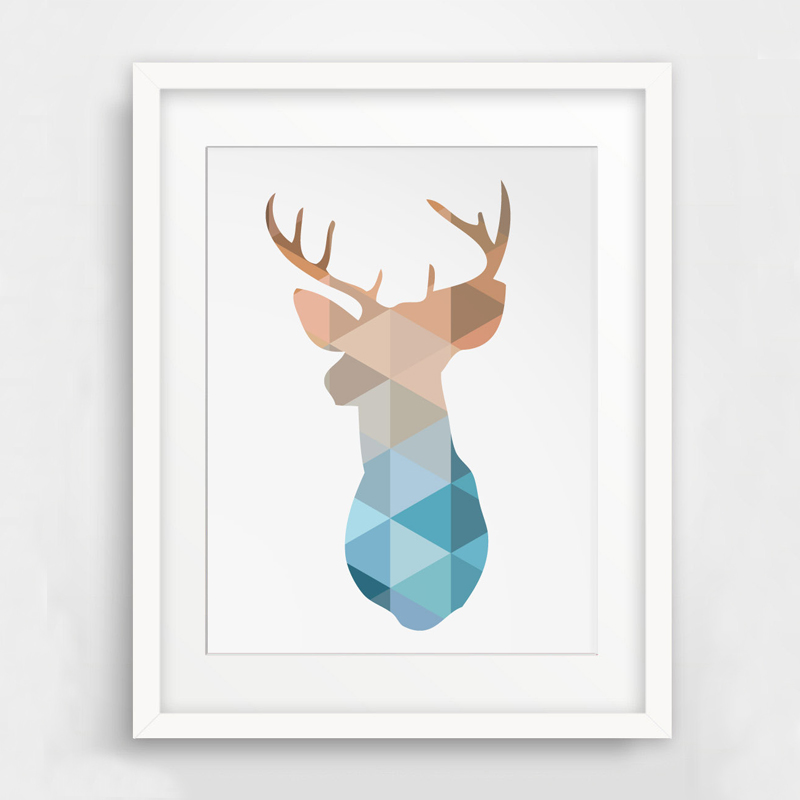 picture relating to Printable Deer Head called US $7.99 Deer Intellect Print, Deer Artwork, Printable Deer, Wall Artwork Print Artwork Canvas Poste, Geometric Pets Dwelling Decor, Body Not integrated-within Portray