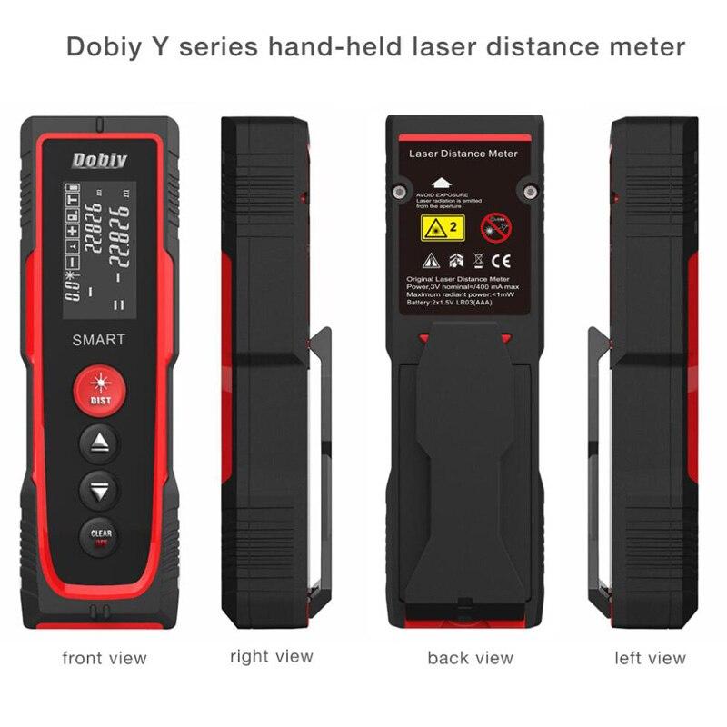 Distance Meter 40M 70M 100M Level Rangefinder Range Finder Tape Measure Area/Volume Digital Laser Distance Meter nf 2650 digital laser distance meter handheld laser rangefinder tape measure distance area volume in level tool lofting function