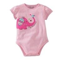Yaz 2016 Sevimli Vücut Bebek Rompers Jumper Fantasia Kız Bebekler için Tulum Yeni Doğan Bebe Giyim Toddlers Çocuklar Giymek