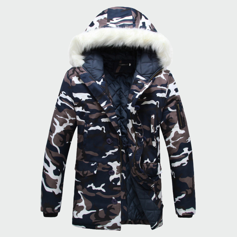 2018 Winter Men's Coats Warm Thick Male Jackets Padded Casual Hooded   Parkas   Men Overcoats Mens Brand Clothing S-5XL ML059
