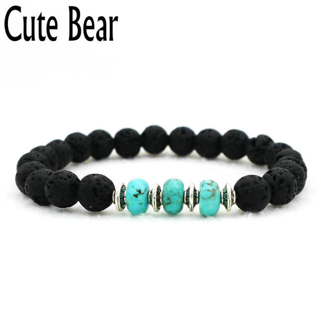 men volcano metal xl i ae frosted beads rock item women dumbbell en buy bracelet for beaded unisex stone aed natural jewelry