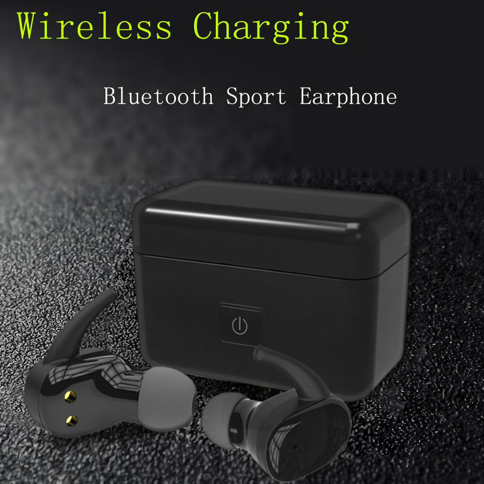 Mini Bluetooth Headphone Wireless Earbuds Stereo In-ear Headset Wireless Charging Noise Cancelling Super Bass Earphone Sport plufy bluetooth earphone headphone wireless speaker sport headphone bass stereo headset noise cancelling for iphone xiaomi l29