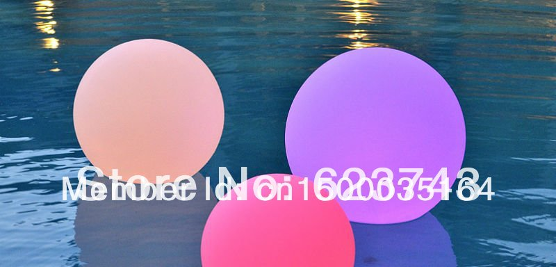 40 см освещенный светодиодный шар цвет сменный, водонепроницаемый бассейн stlools изменение цвета D40cm светодиодный шар RGB, loysphere - 5