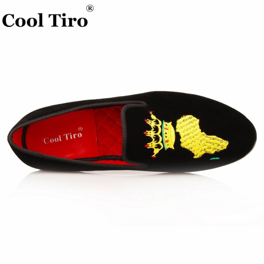 3847 Chaussures bleu Casual Appartements Noir Mocassins Cool Conduite Tailles Eu Oxford 2018 Hommes Noir Velours Tiro Homme Brodé Partie qR354AjL
