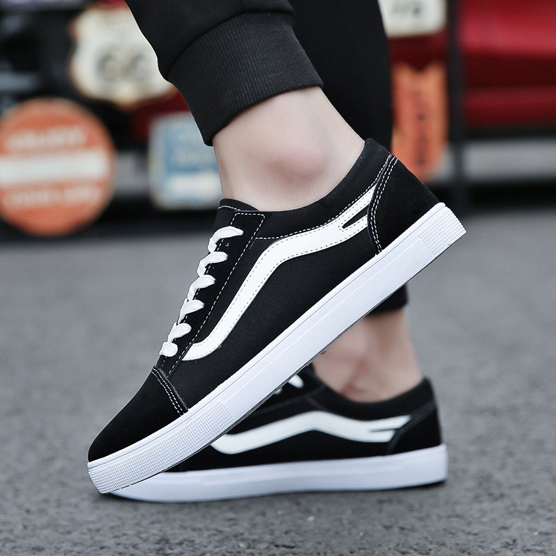 2018 canvas shoes male Korean version of the trend of men's shoes flat casual students couple small white shoes 2016 spring shoes a flat with nurse shoes the leisure trend of korean flat shoes