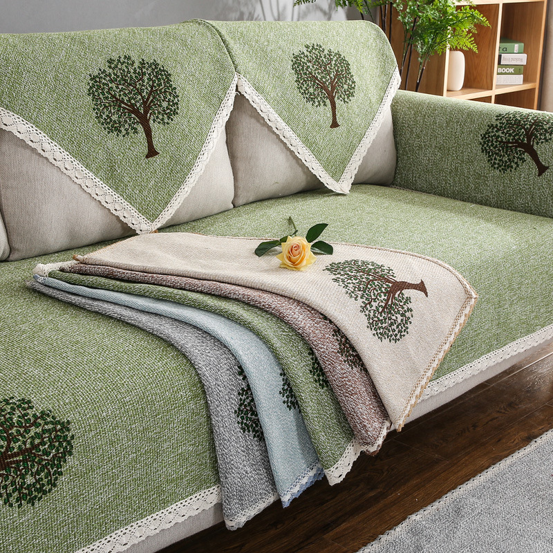 Sofa Cushion Covers In Bangalore: L Shaped Sofa Cover Towel Pads W Pillow Case Warm Corner