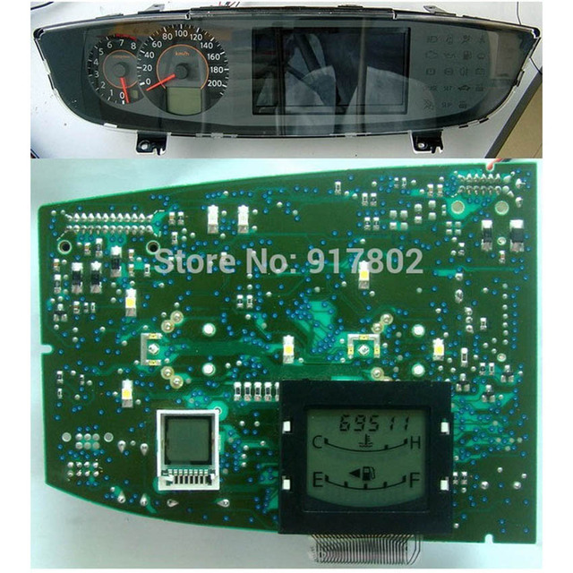 Pixel Repair Ribbon Cable Lcd Screen For Nissan Quest Instrument