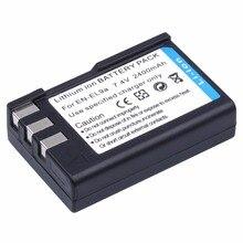 Probty EN-EL9 EN-EL9a EN EL9 Литий-ионный Батарея пакет для Nikon D40 D40X D60 D3000 D5000 цифровых зеркальных камер