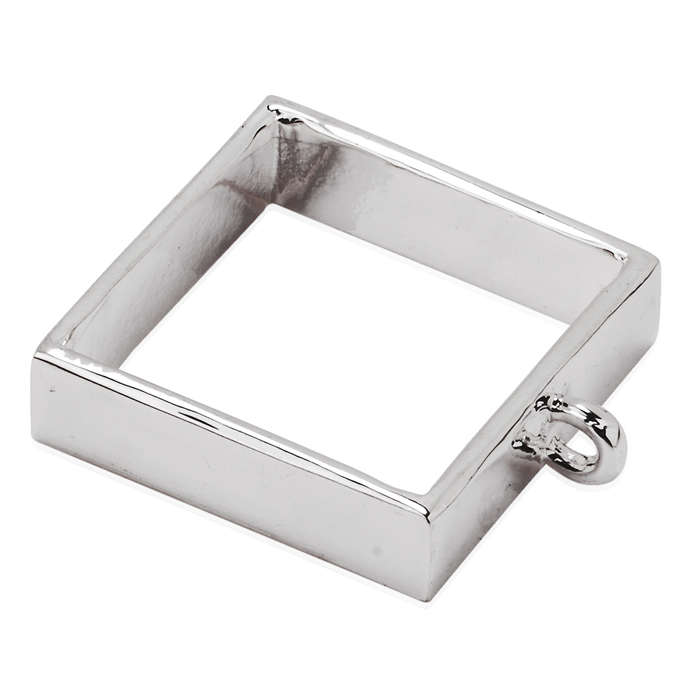 Square silver pressed flower open back bezel pendant alloy square silver pressed flower open back bezel pendant alloy pendant setting pendant jewelry blanks base in pendants from jewelry accessories on mozeypictures Image collections