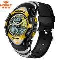 HOSKA Brand Children Swimming Sport Watches Men 50m Waterproof Quartz Analog Digital Watch LED Display Watch for Kids HD011
