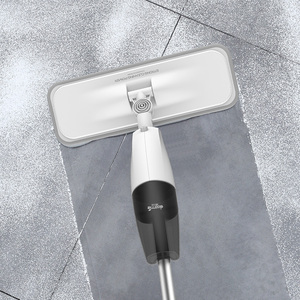 Image 3 - Deerma מים תרסיס Mop מטאטא חכם רצפה שואב פחמן סיבי אבק מגבים 360 מסתובב מוט 350ml טנק שעווה סמרטוט