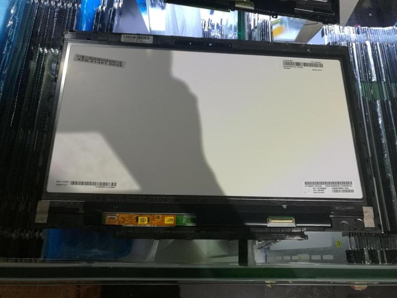 Livraison gratuite! LP140QH1-SPA2 LCD Affichage Tactile Assemblée D'écran avec Tactile Pour Lenovo Thinkpad X1 Carbone 00HN827 2560*1440
