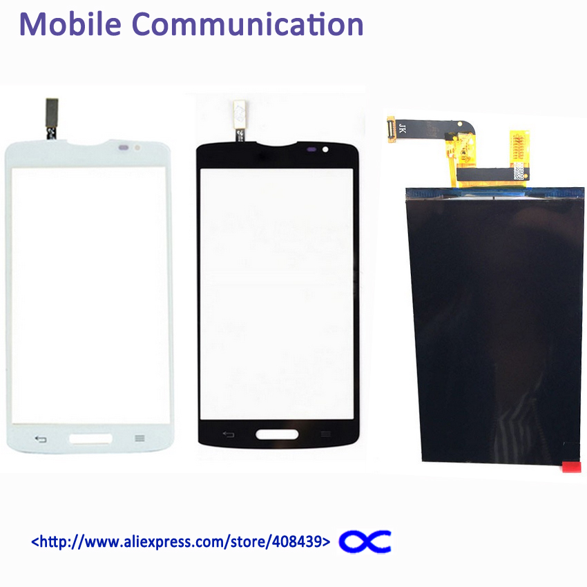 ФОТО New L80 D373 LCD Touch Screen For LG Optimus L80 D373 Single Sim Display Touch Panel Digitizer Tracking
