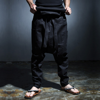 Male Singer Of Tall Waist Slacks Haroun Pants Personality Alternative Summer Nightclub Stage Costumes Tide