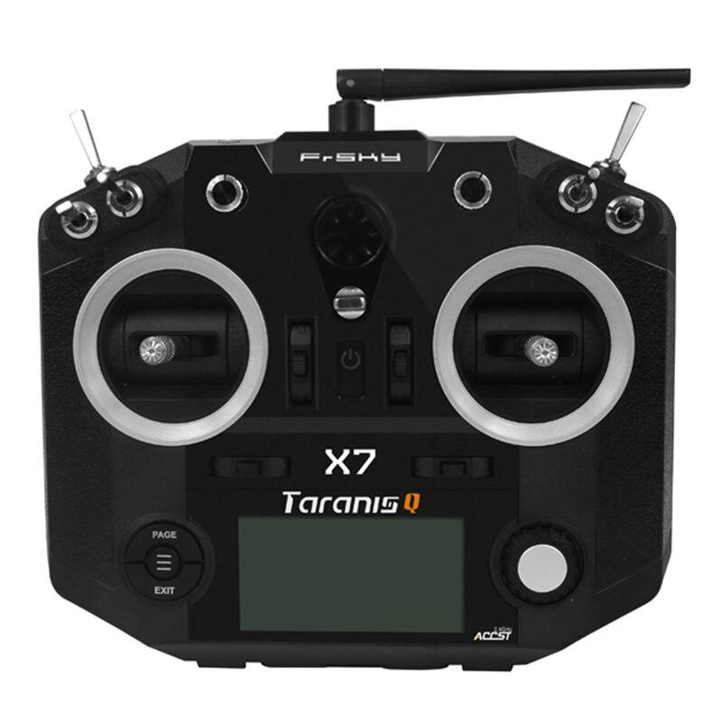 Livraison gratuite FrSky ACCST Taranis Q X7 2.4G 16CH Mode 2 télécommande émetteur blanc noir Version internationale - 4