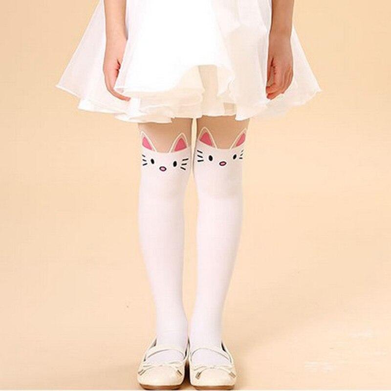 Spring-autumn-girl-fashion-cartoon-printed-cat-pantyhose-5-15-years-3