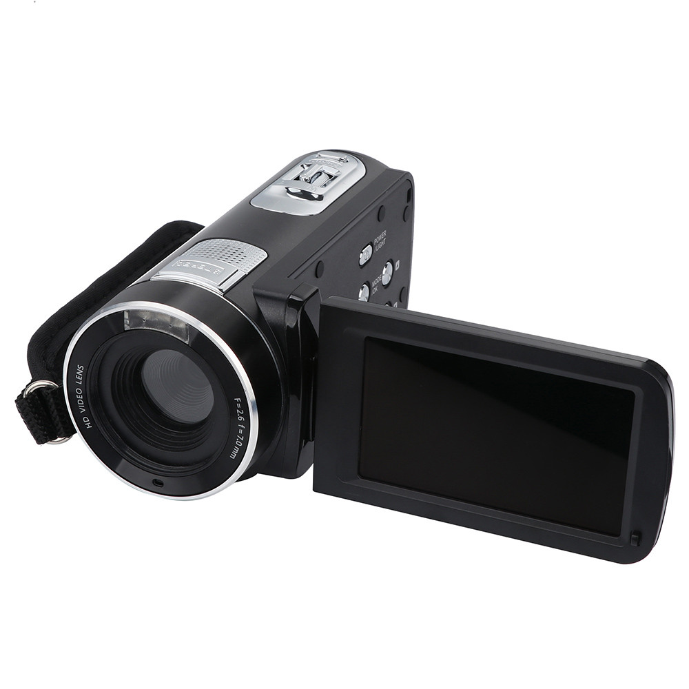 2018 Video Camera Camcorder HD 1080P 24 0MP 3 0 Inch LCD Screen 18X Digital Zoom