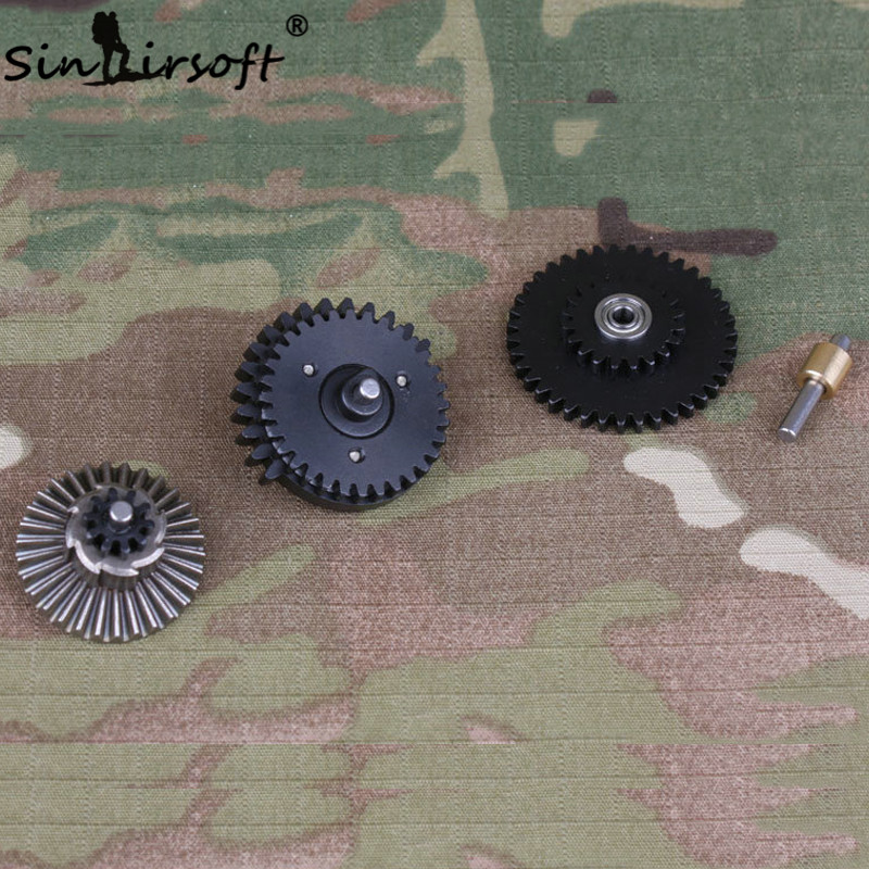 SINAIRSOFT BD Súper alta velocidad 3 Rodamiento Engranaje 18:1 Original de Par d