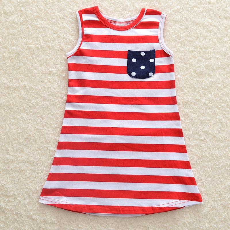 2017 семейная одежда для мамы и дочки американский флаг новорожденных Обувь для девочек Кисточки одежда детей и родителей летние сарафаны