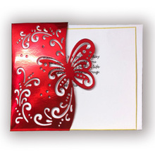 Hot Sale DIY Craft Butterfly Envelope greeting card Metal Cutting Dies Stencil Scrapbooking Embossing Album 108x139mm