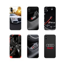 For Huawei Mate Honor 4C 5C 5X 6X 7 7A 7C 8 9 10 8C 8X 20 Lite Pro Accessories Phone Shell Covers Audi Rs Series(China)