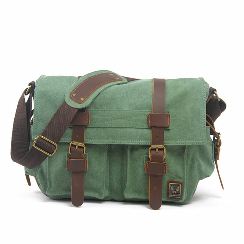 Men Messenger Bags 2016 Canvas Leather Crossbody Bag Men Military Army Vintage Shoulder Bag Casual Travel Bags I AM LEGEND 2017 canvas leather crossbody bag men military army vintage messenger bags large shoulder bag casual travel bags