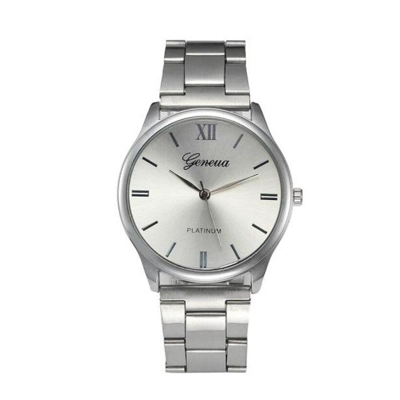 Watch Fashion Women Crystal Stainless Steel Analog Quartz Wrist Watch Bracelet Watch Quartz Round Watches #0119 цена и фото