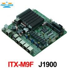 4*82583 V Quad Core J1900 Procesador Firewall Placa Base Industrial con WIFI de la ayuda 3G USB COM