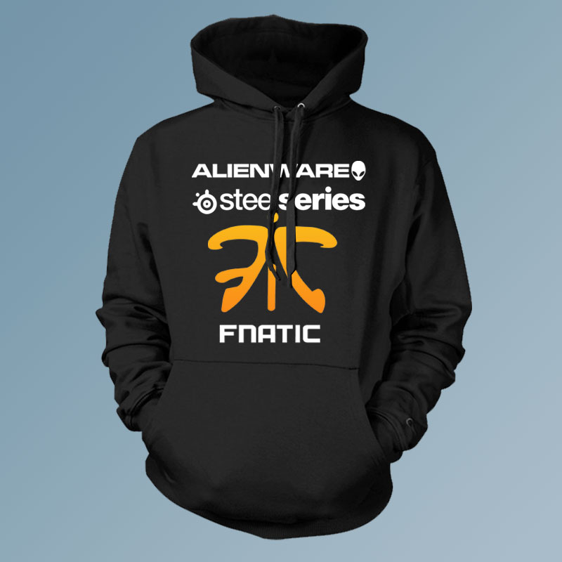 LOL CSGO clan fnatic game team Men pullover hoodies cardigan man esport hoody Men s Outwear