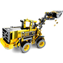 688+pcs Engineering Figures Block Bulldozer Truck Building Blocks Technic Bricks City Construction Brick Toys For Children Gift new city engineering team demolition site building block worker figures truck forklift bricks 60076 educational toys for kids