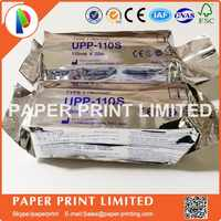 5X ROLLS UPP-110S for printer 110mm*20m high quality Upp 110s COPATIBLE Ultrasound Thermal Paper Roll
