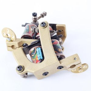 Besta 2017 New Arrival Coil Tattoo Machines Gun for Liner and Shader with Tattoo Boxes Coils Tattoo Guns Tattoo Supply