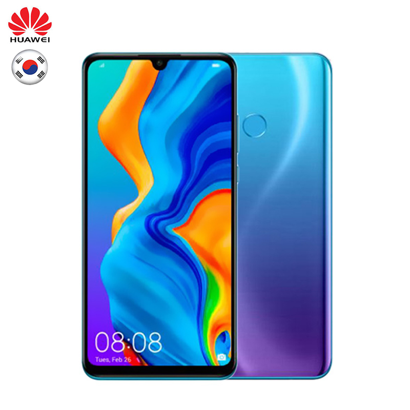Huawei P30 Lite Version globale 6 GB 128 GB Smartphone téléphone Mobile 32MP caméra frontale Triple caméra arrière Android 9.0 128 GB Rom