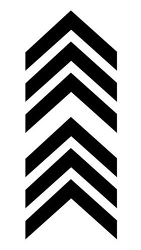 Waterproof Temporary Fake Tattoo Stickers Cool Black Geometric Unique Design Body Art Make Up Tools