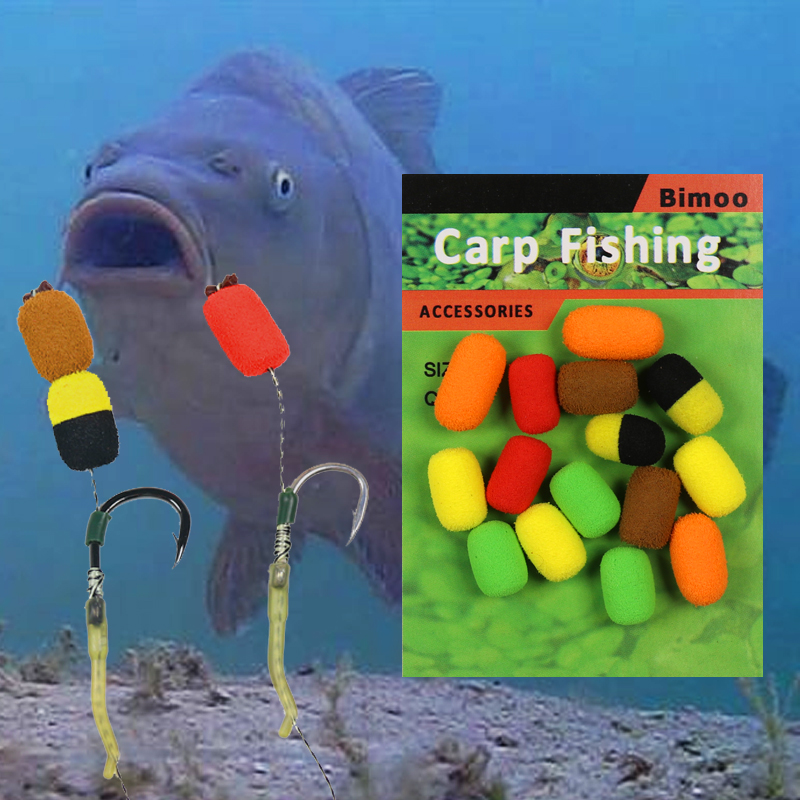 bimoo-15-unidades-pacote-cilindro-de-espuma-de-isca-de-pesca-da-carpa-boilie-pop-ups-gancho-iscas-de-peixe-isca-8mm-zig-rig-equipamento-terminal-de-espuma-marrom-vermelho