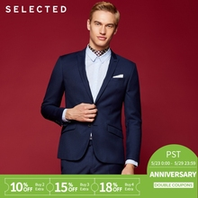 SELECTED Men's Slim Fit Business Suits Blazers T|41815X501