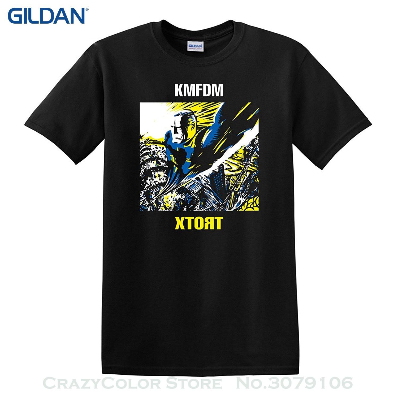 Gildan New Fashion Mens T Shirt Kmfdm Xtort 1996 T Shirt Industrial