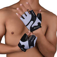 2019 Fitness Handschuhe Gym Übung Gewichtheben Handschuhe Körper Sport Building Training Männer Frauen Half Finger Handschuhe