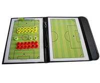 Magnetic Football Coach Board PU Leather Soccer Tactical Board