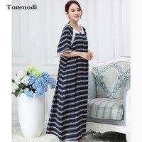 Nightdress For Women Long nightgown Summer Sleepwear nightdress Cotton Silk Womens sleep nightshirt